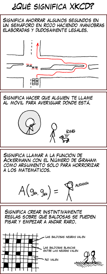 Lo que significa XKCD